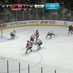 Jonathan Quick Save on Brad Richards (15:30/1st)