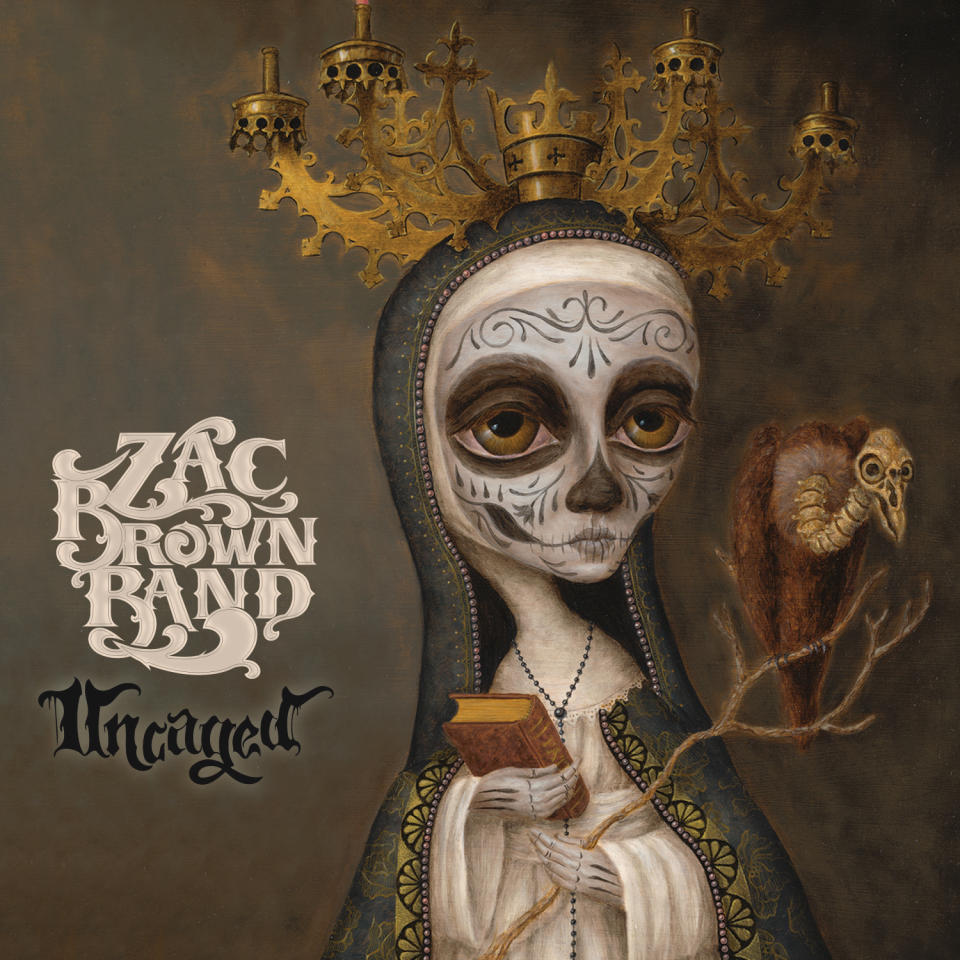 "This CD cover image released by Southern Ground/Atlantic shows ""Uncaged,"" the latest release by the Zac Brown Band. (AP Photo/Southern Ground/Atlantic)"
