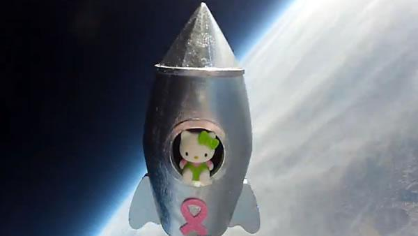 Antioch girl sends Hello Kitty into space for science project