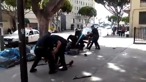LAPD shooting of homeless man: First big test for bodycams?