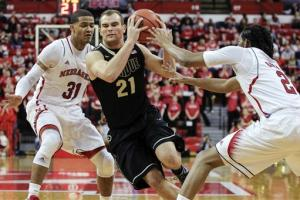 Terone Johnson helps Purdue beat Nebraska 65-56