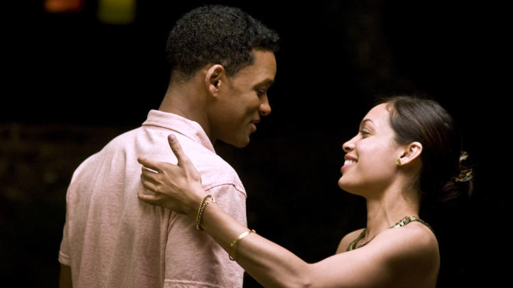 Rosario Dawson Will Smith Seven Pounds Production Stills Columbia 2008