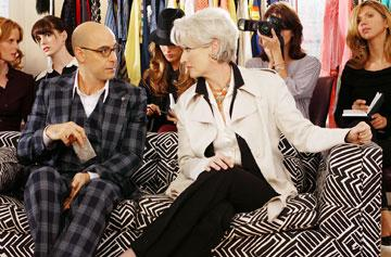 Stanley Tucci and Meryl Streep in 20th Century Fox's The Devil Wears Prada