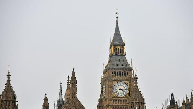 A general view of the Houses of Parliament in central London, pictured on April 10, 2013