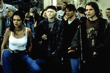 Katie Holmes , Chad E. Donella , James Marsden and Nick Stahl in MGM's Disturbing Behavior