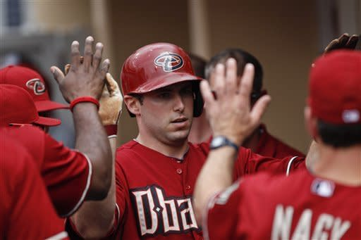 Cahill's gem helps Diamondbacks beat Padres 6-0