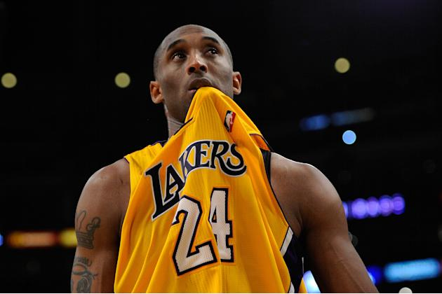 Kobe Bryant during the 2011 NBA playoffs