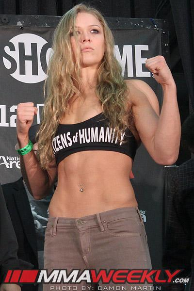 """Dana White Says Ronda Rousey is """"So Nasty, So Mean"""" She'd Fight a Guy if She Had To"""