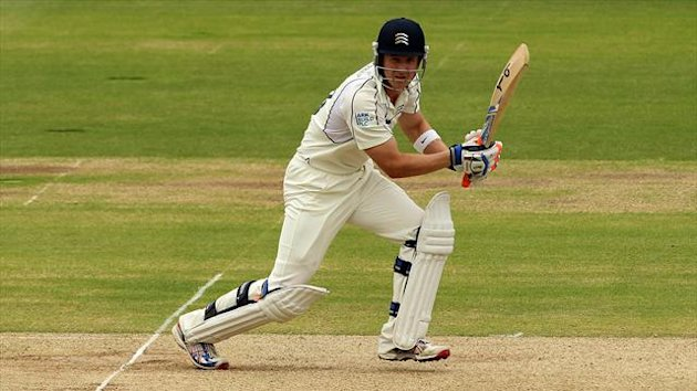 Middlesex batsman Joe Denly starred for the MCC