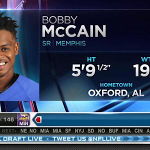Miami Dolphins pick cornerback Bobby McCain No. 145 in 2015 NFL Draft