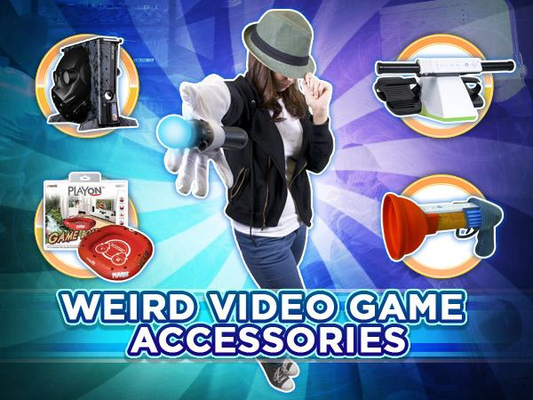 Weird Video Game Accessories