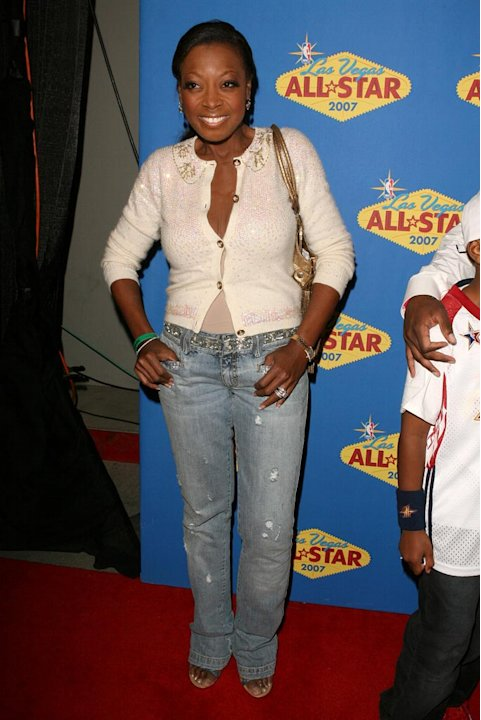Star Jones Reynolds at the 2007 NBA All-Star Game. 