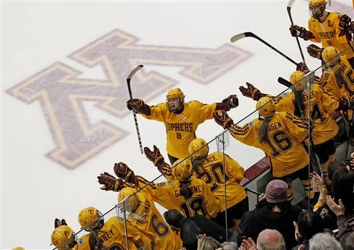 Gophers get perfect season with NCAA women's title