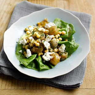 Shallot and Chickpea Salad: Recipes