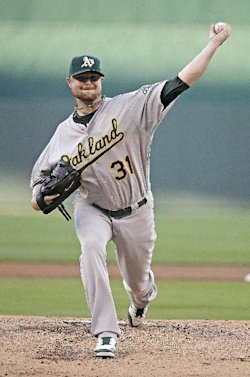 Jon Lester struck out nine Royals hitters. (AP)