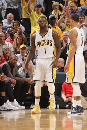 Pacers say practice got physical before Game 1