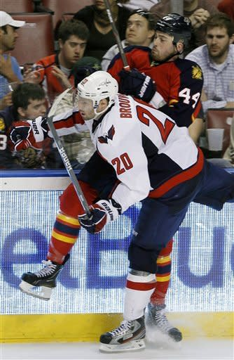 Semin scores winner as Capitals beat Panthers 2-1