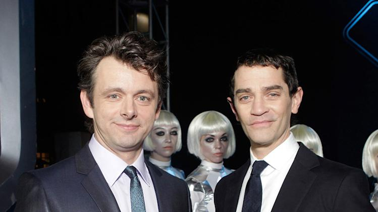 Tron Legacy LA Premiere 2010 Michael Sheen James Frain