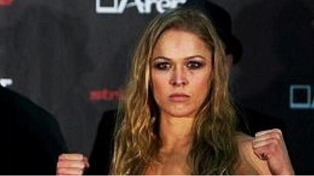 Olympian Rousey on fire in MMA