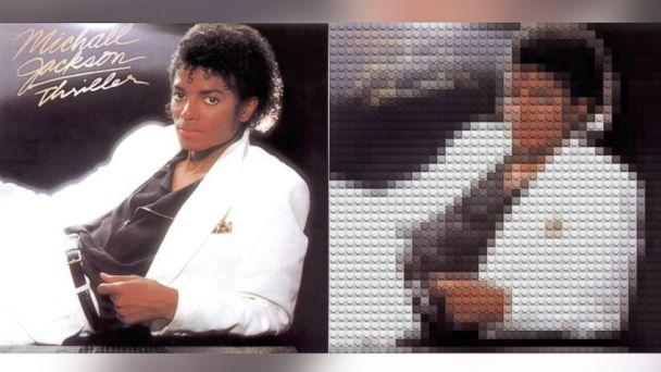 Iconic Album Covers Recreated in LEGOs