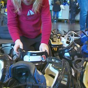 Hockey Families Take Home Donated Gear From Xcel Energy Center