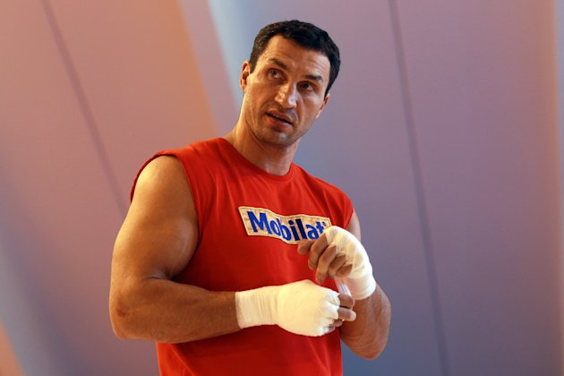 Klitschko Media Day