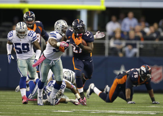 Broncos Cowboys Football