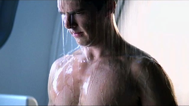 Benedict Cumberbatch evil shower