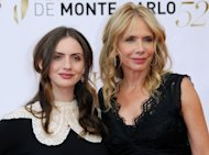 US actress Rosanna Arquette (R) and her daughter Zoe Bleu Sidel pose during the closing Ceremony of the 52nd Monte-Carlo Television Festival on June 14, 2012 in Monaco