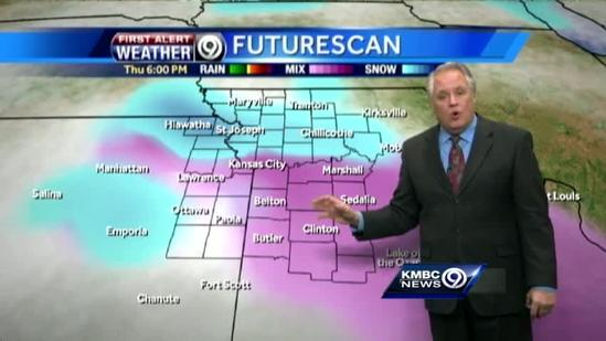 Tuesday will be another cold one