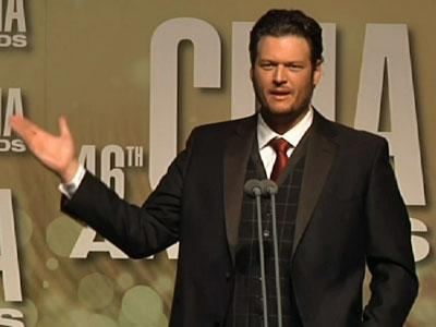 Blake Shelton on his surprise CMA win