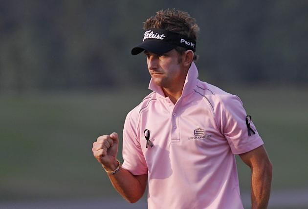 Kruger leads Hong Kong Open by 1 shot