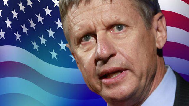 Did Gary Johnson affect the election outcome?