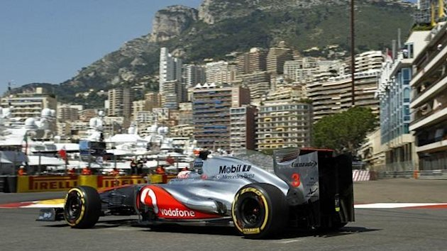 2012 Monaco GP McLaren Button