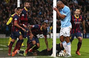 Barcelona was 'there for the taking', says Manchester City captain Kompany