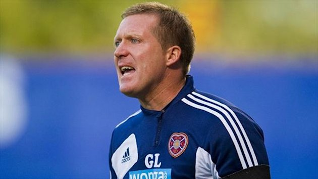 Gary Locke's Hearts welcome Celtic to Tynecastle on Saturday