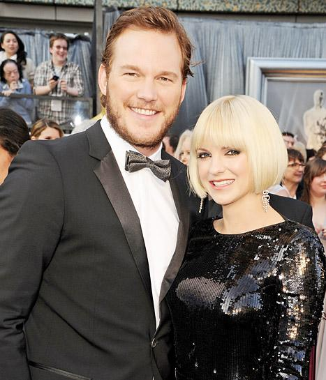 "Chris Pratt, Anna Faris Ask Fans to ""Mouth Kiss a Stranger"" to Congratulate Them on Son's Birth"