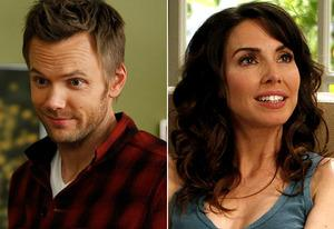 Joel McHale, Whitney Cummings   | Photo Credits: Tyler Golden/NBC; Jordin Althaus/NBC