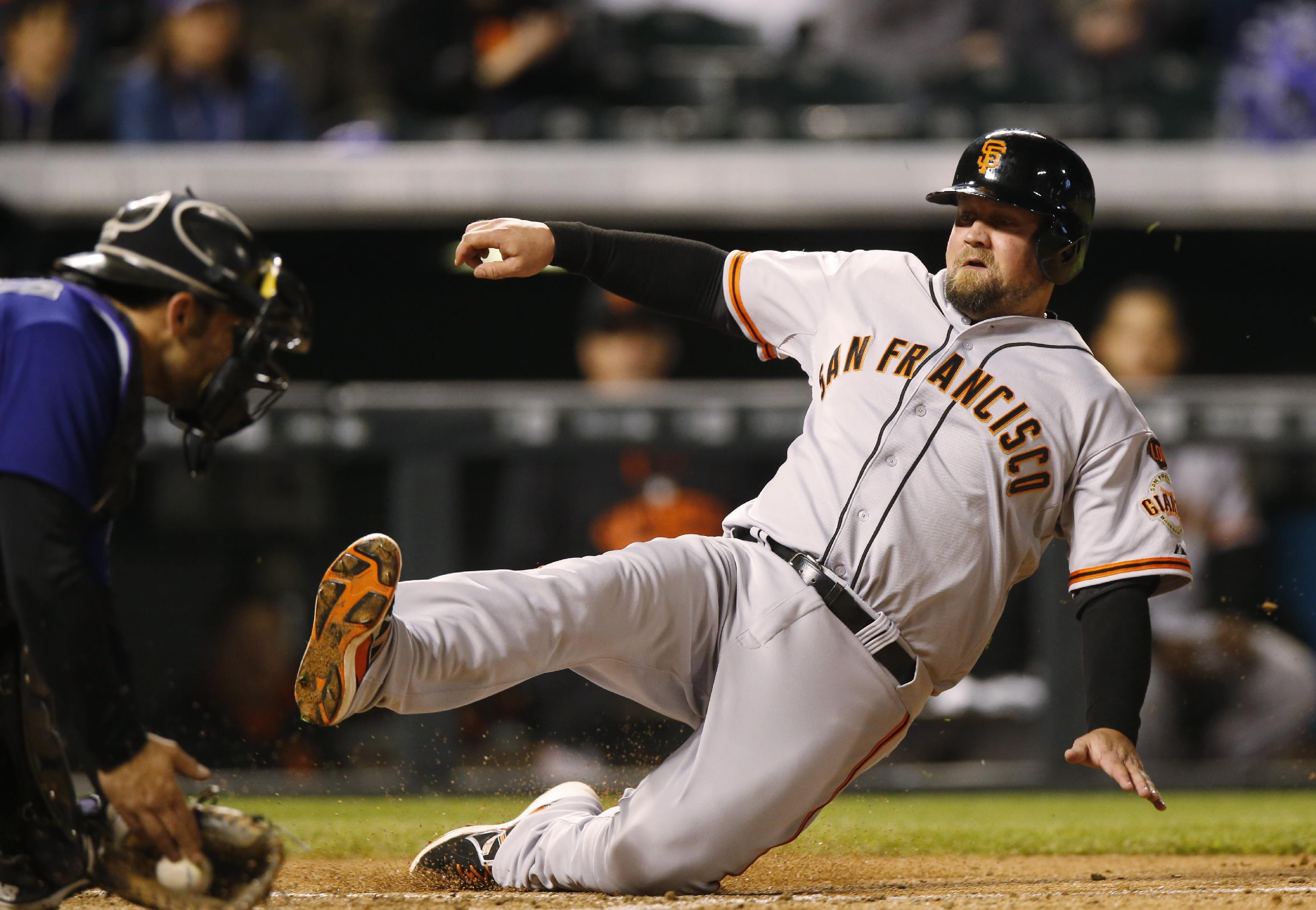 Giants 3B McGehee designated for assignment