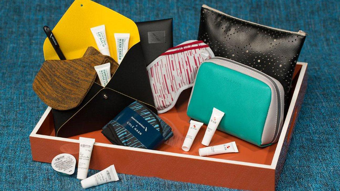 American Airlines Elevates New Dopp Kits With Four Brands