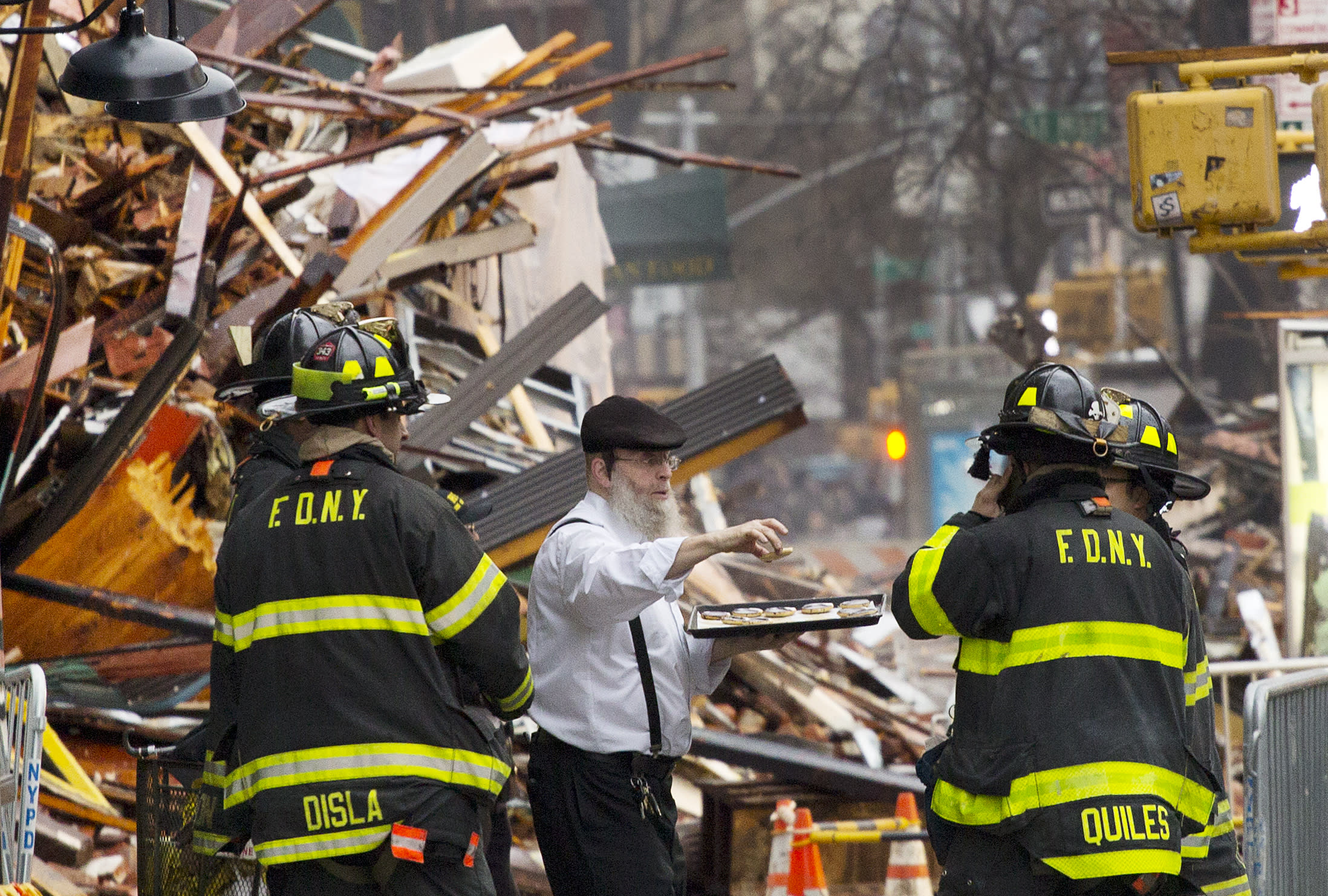 NYC police to determine if 6 missing are connected to blast