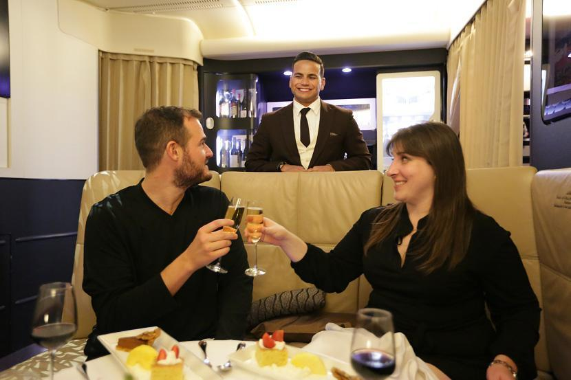 Inside the Most Over-the-Top $32,000 (One Way!) Airplane Suite