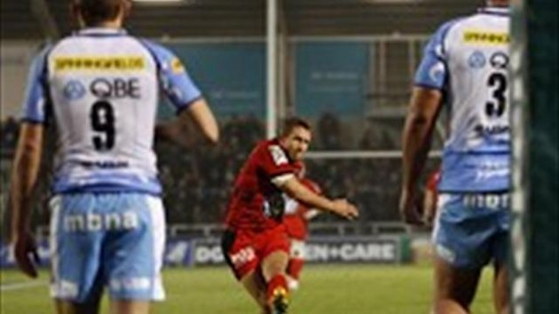 Jonny Wilkinson kicked four penalties for Toulon