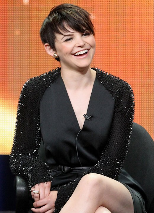 "Ginnifer Goodwin of the television show ""Once Upon A Time"" speaks during the Disney ABC Television Group portion of the 2011 Summer Television Critics Association Press Tour held at The Beverly Hilton"