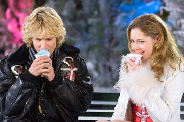 Jon Heder and Jenna Fischer in DreamWorks Pictures' Blades of Glory