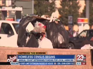 Homeless Census Begins