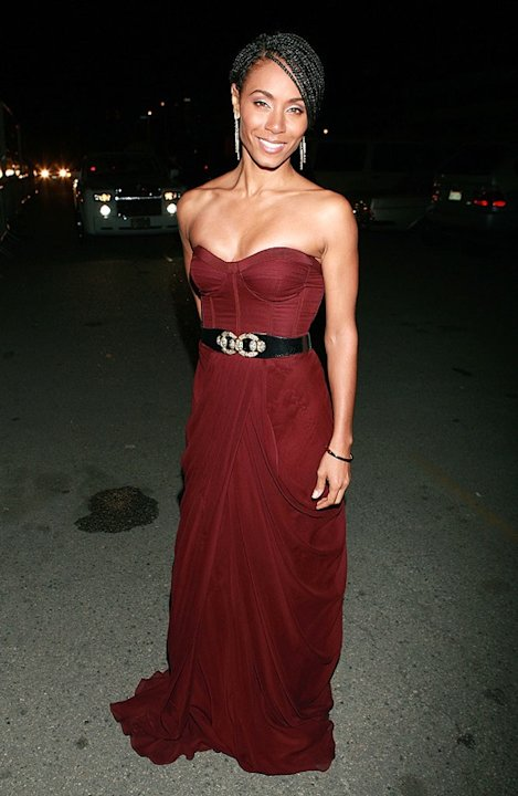 Actress Jada Pinkett Smith attends the 40th NAACP Image Awards at the Shrine Auditorium on February 12, 2009 in Los Angeles, California. Jada Smith 