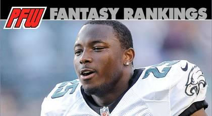 Week 11 RB rankings