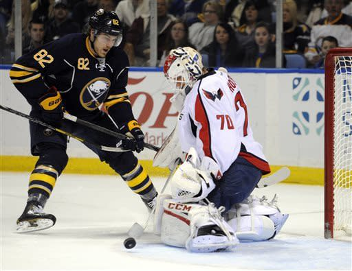 Green rallies Caps to 4-3 SO win over Sabres