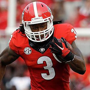 Will Gurley, Georgia run past South Carolina?